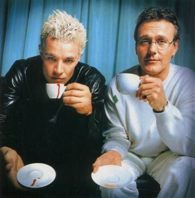 "Brits drinking ""tea"""