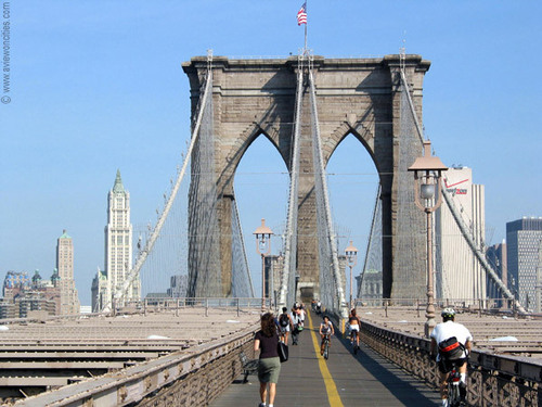 New York wallpaper entitled Brooklyn Bridge