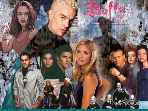 Buffy, la cazavampiros fondo de pantalla titled BtVS