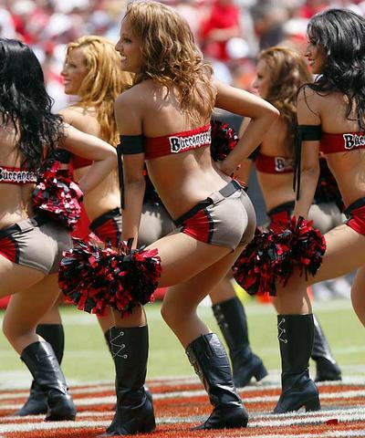 Bucs Butts - NFL Cheerleaders Photo (483926) - Fanpop