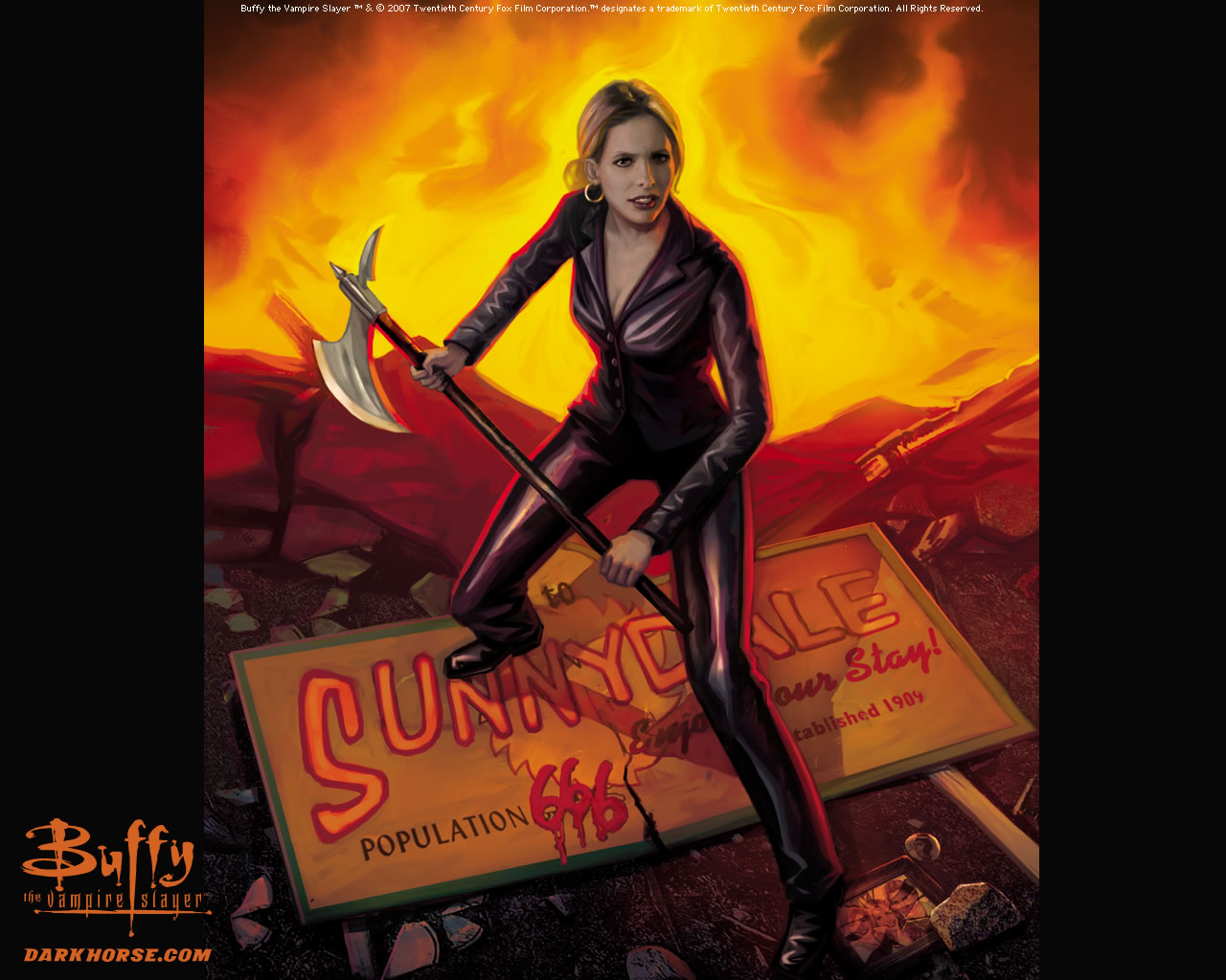 Buffy Comic Art - Buffyverse Comics Wallpaper (769936 ...