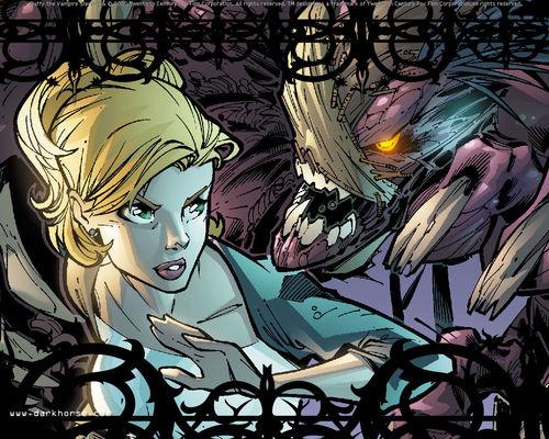Buffyverse Comics achtergrond called Buffy Comic Art