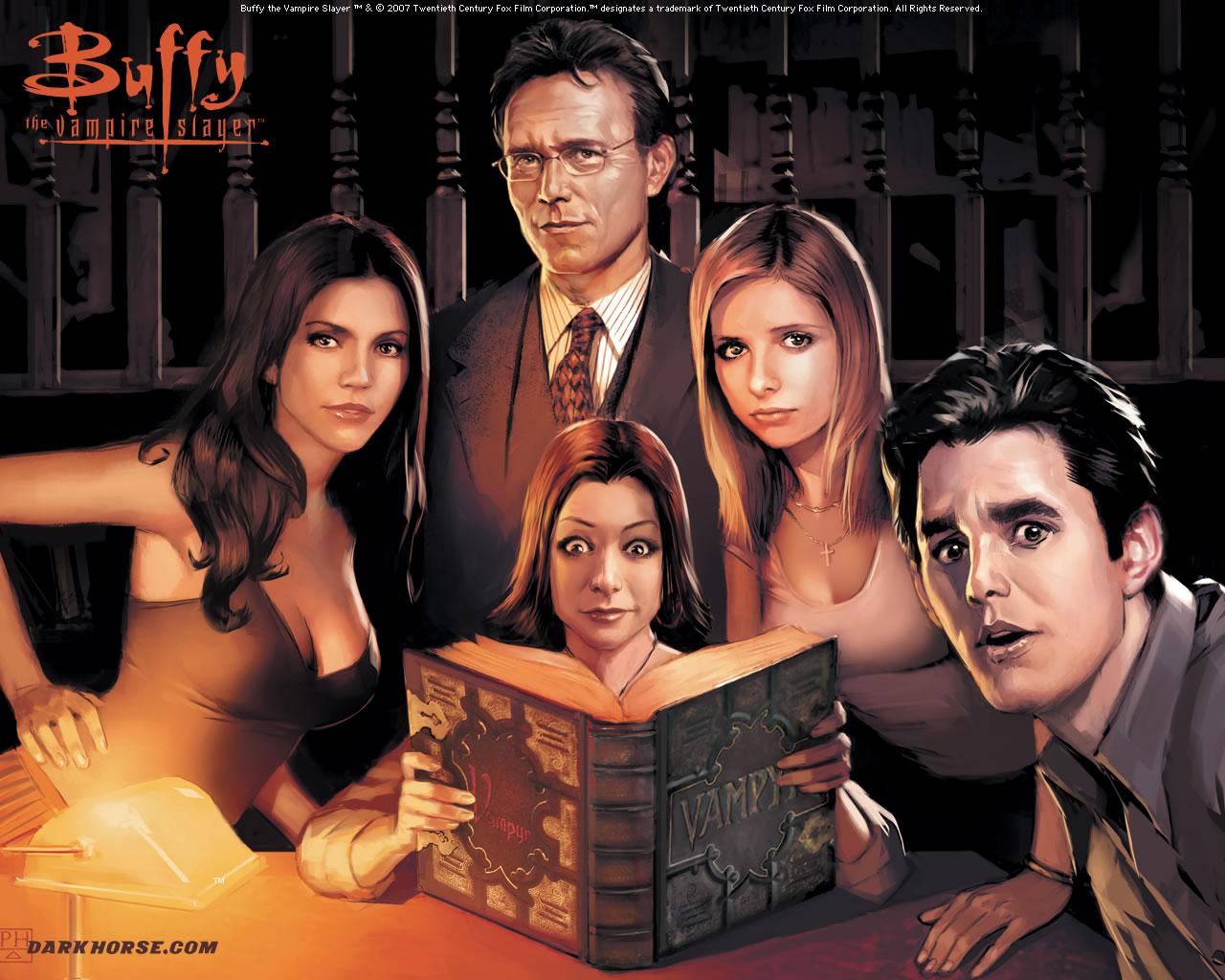 Buffy Comic Art