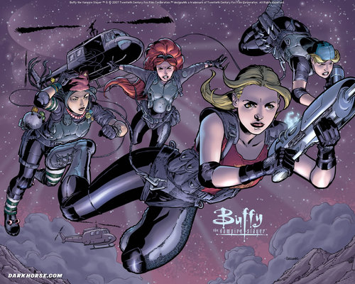 Buffy Comic fondo de pantalla