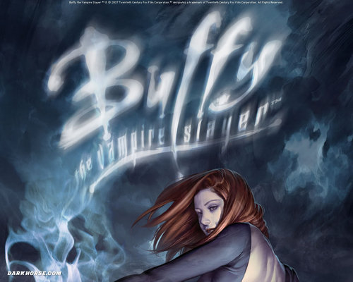 Buffy Comic achtergrond