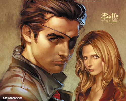 Buffy Comic fond d'écran