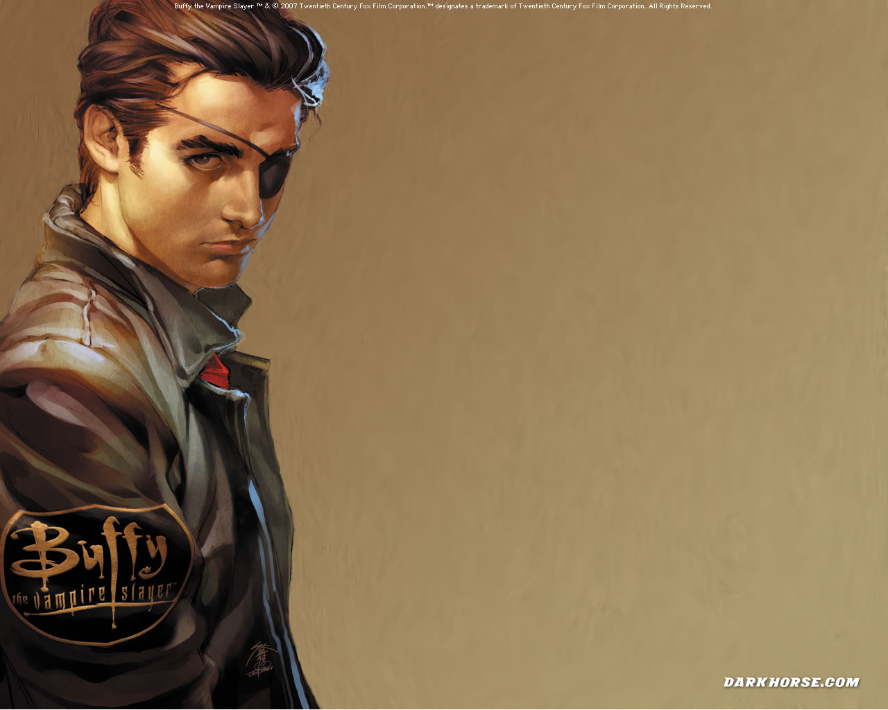 Buffy Comic achtergrond