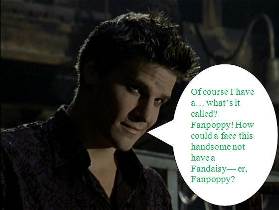 Buffy Fanpoppy Fever: Angel
