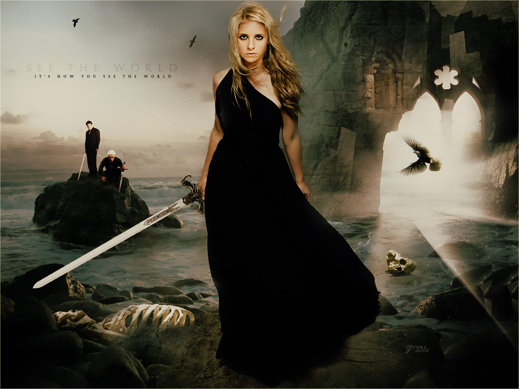 Picture Battles. - Page 2 Buffy-Spike---Angel-buffy-the-vampire-slayer-677664_1024_768
