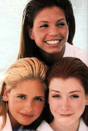 Buffy,Willow & Cordelia