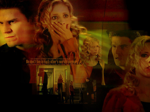 Buffy and Angel - bangel Wallpaper
