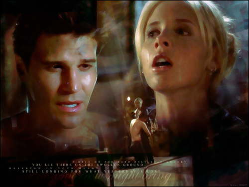 Bangel wallpaper called Buffy and Angel