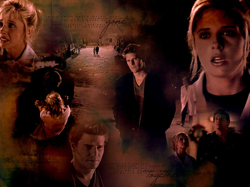 Bangel wallpaper titled Buffy and Angel