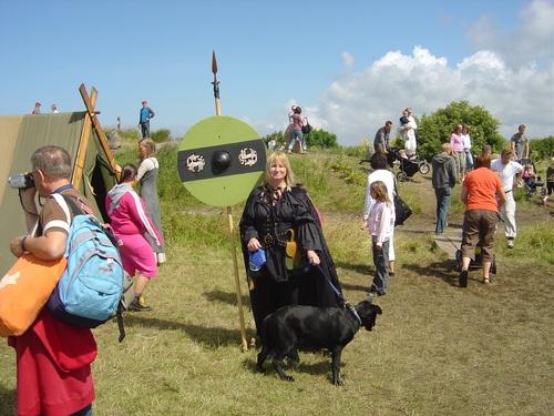 Buffy at Viking Market