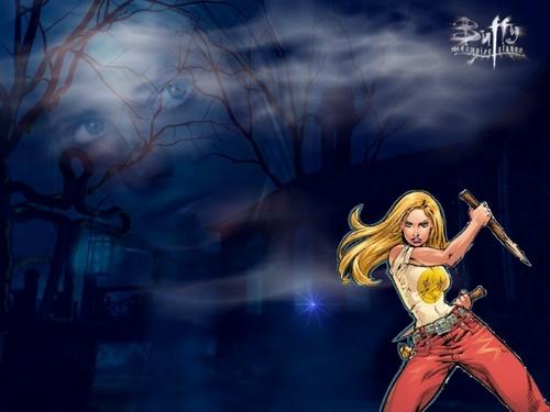 Buffyverse Comics achtergrond entitled Buffy
