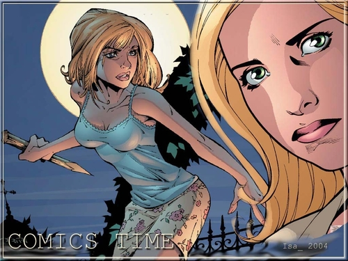 Buffyverse Comics achtergrond titled Buffy