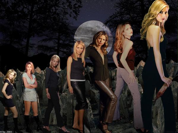 Buffy through out the years
