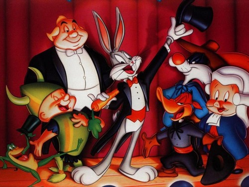 Warner Brothers Animation wallpaper entitled Bugs Bunny