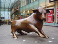 Bull of Birmingham Bullring - england photo