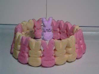 Bunny Death Ritual - marshmallow-peeps Photo