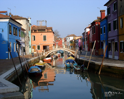 Burano - italy Wallpaper