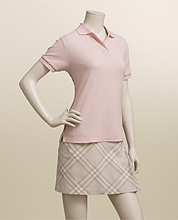 burberry Golf parte superior, arriba
