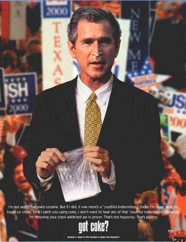 Bush: Got Coke?
