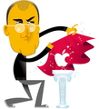 Business Week Art: Steve Jobs