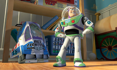 Toy Story Hintergrund entitled Buzz Lightyear