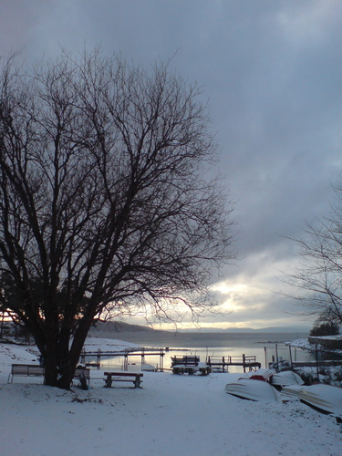 Bygdøy (Oslo) in winter