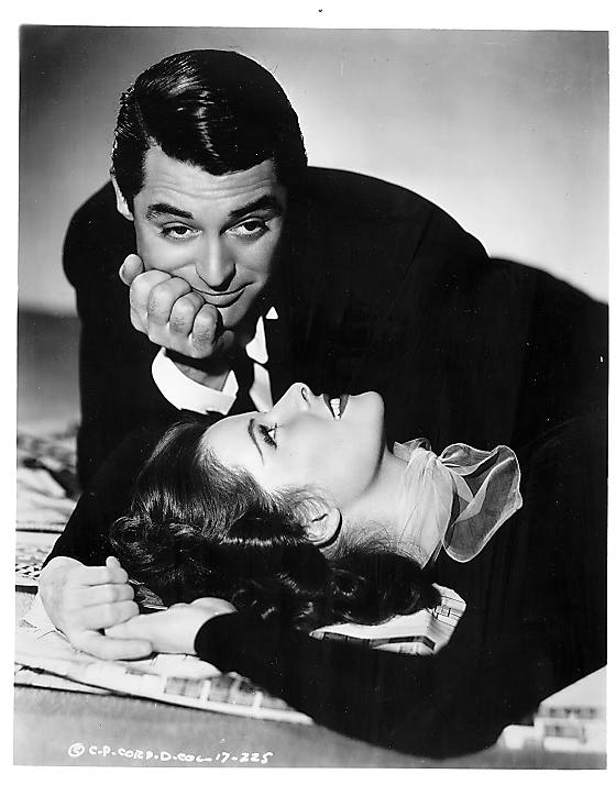 Cary Grant couple