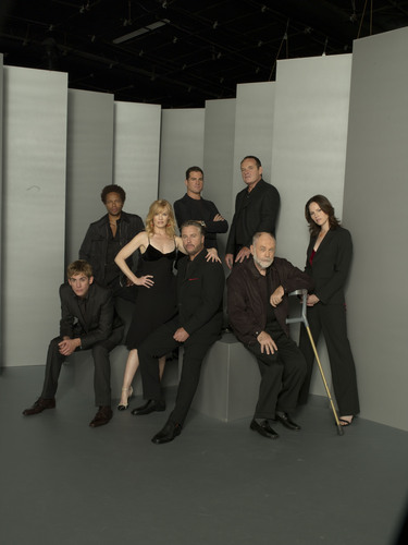 CSI wallpaper entitled CSI Cast