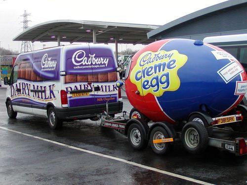 Cadbury Van & Egg