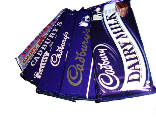 Chocolate wallpaper entitled Cadbury's Dairy Milk Bars