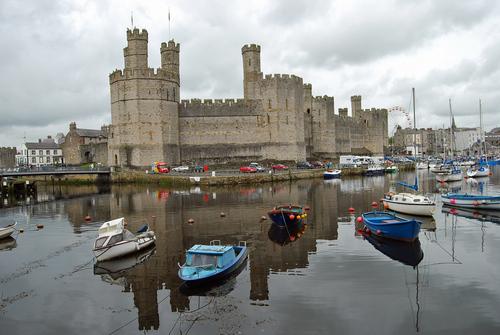 Caernarfon गढ़, महल - Wales