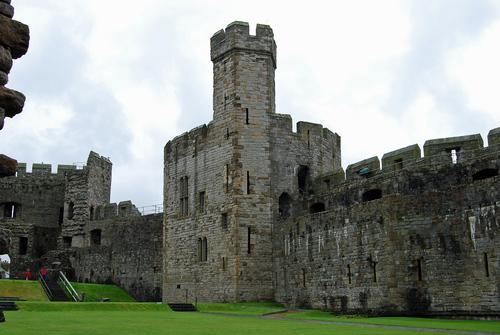 Caernarfon দুর্গ - Wales