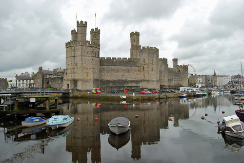 Caernarfon castillo - Wales