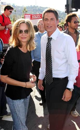 Calista Flockhart & Rob Lowe
