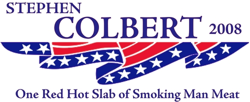 Stephen Colbert wallpaper titled Campaign Slogan