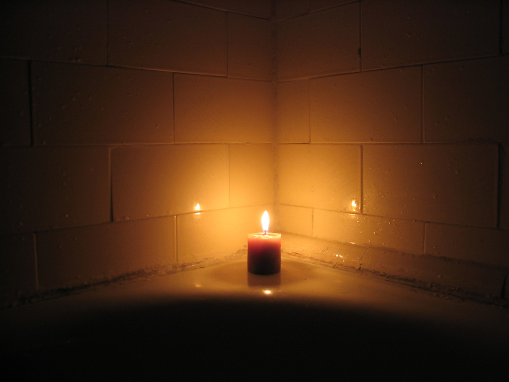 Candles Images Candle In Bathroom HD Wallpaper And