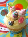 Candy cupcake - cupcakes photo