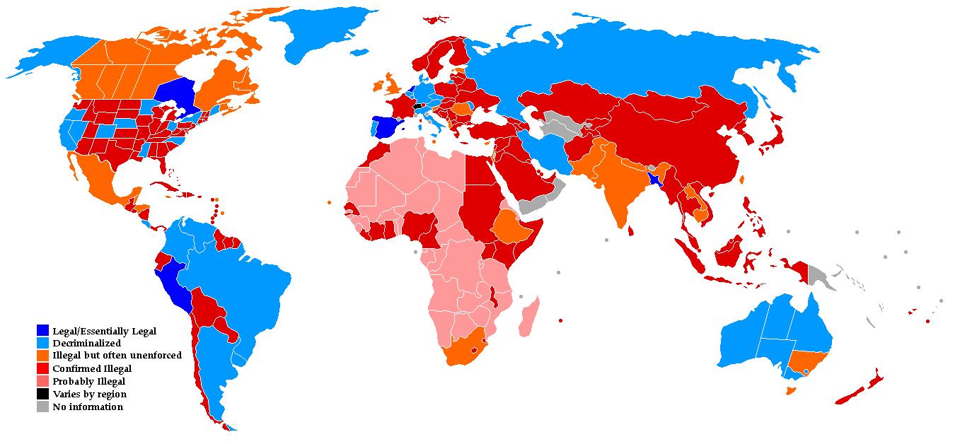 Cannabis Laws Around the World