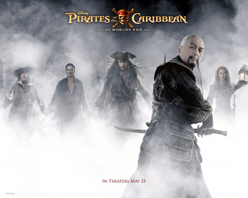 Pirates of the Caribbean wallpaper titled Captain Sao Feng
