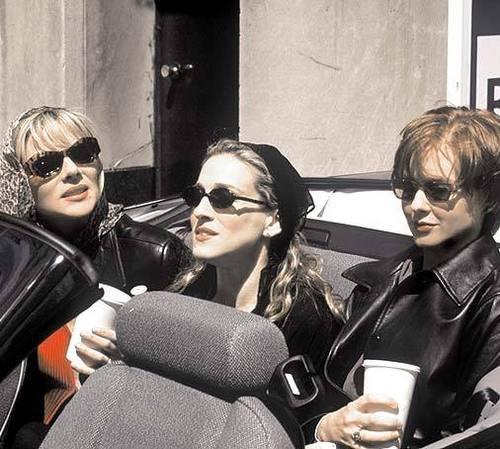 Carrie, Miranda, & Samantha