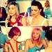 Carrie, Sam, Miranda & Char