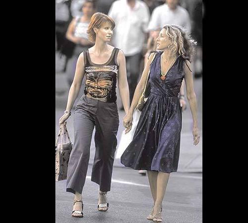 Carrie and Miranda