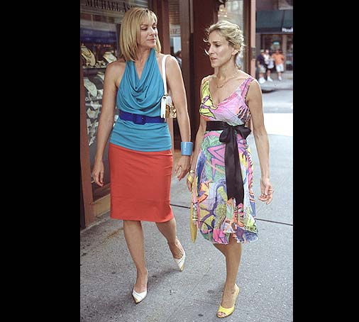 Carrie and Samantha