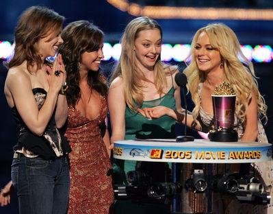 Mean Girls wallpaper titled Cast @ MTV Movie Awards