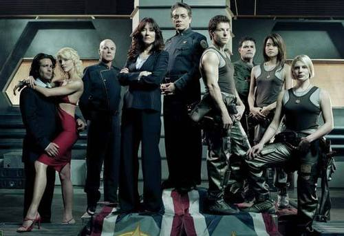 Battlestar Galactica wallpaper entitled Cast