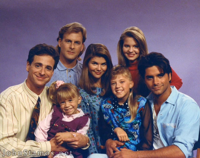 Cast full house photo 550591 fanpop for Fully house